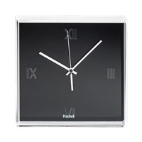 Kartell Tic And Tac Wall Clock Black