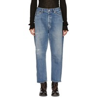Chimala Blue Tapered Cut Selvedge Jeans
