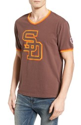 American Needle Men's Eastwood San Diego Padres T Shirt