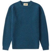 Journal Standard Ribbed Crew Knit Blue