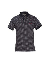 Project E Topwear Polo Shirts Men Dark Blue