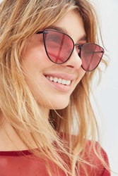 Urban Outfitters Catalina Cat Eye Sunglasses Pink