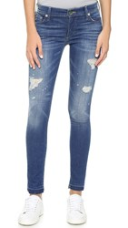 True Religion Halle Mid Rise Super Skinny Jeans Vintage True Religion