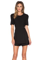 Milly Loulou Romper Black