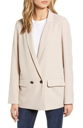 Chelsea 28 Chelsea28 Double Button Blazer Tan Memoir