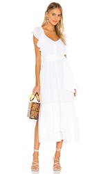 Cleobella Karina Midi Dress In White.