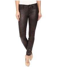 Blank Nyc Coated Metallic Skinny In Smooth Operator Smooth Operator Women's Jeans Black