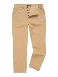 Lyle And Scott Regular Fit Chino Trouser Camel