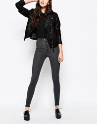 Dr. Denim Dr Denim Solitaire High Waisted Jean B40grey