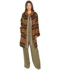 Vivienne Westwood Blanket Cape Yellow Women's Clothing
