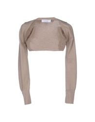 Kaos Topwear Shrugs Women Dove Grey