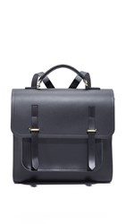 The Cambridge Satchel Company Bridge Closure Backpack Black Black