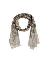 Etro Accessories Oblong Scarves Women Military Green