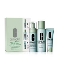 Acne Solutions Clear Skin System Kit Clinique