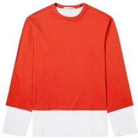 Comme Des Garcons Shirt Long Sleeve Layered Tee