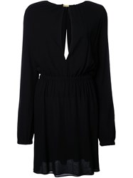 Jay Ahr Central Slit Longsleeved Dress Black