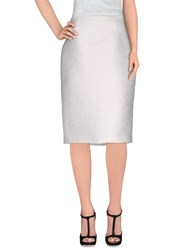 Dsquared2 Skirts Knee Length Skirts Women White
