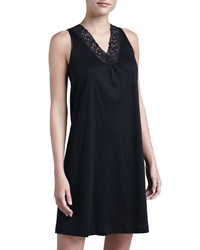 Hanro Moments Tank Gown Black Black X Small 4 6
