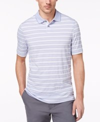 Tasso Elba Men's Striped Polo Created For Macy's Billowing Cloud