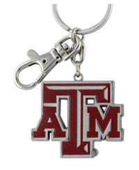Aminco Texas A And M Aggies Heavyweight Keychain Team Color