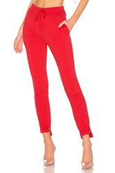 Lovers Friends Saturn Sweatpants Red
