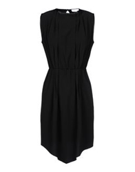 George J. Love Short Dresses Black