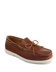 Eastland Yarmouth Leather Boat Shoes Peanut