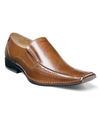 Stacy Adams Templin Loafers Men's Shoes Cognac