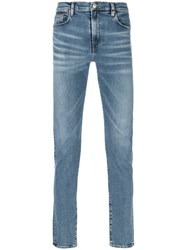 Paul Smith Ps By Stonewashed Jeans Blue