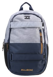 Billabong No Comply Rucksack Grey Heather Navy Mottled Grey