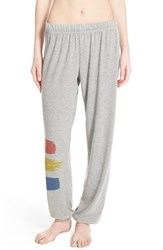 Women's Lauren Moshi 'Tanzy' Graphic Cotton Blend Sweatpants