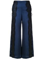 Romance Was Born Devotion Lace Pants Blue