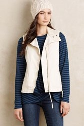 Anthropologie Canyon Sherpa Vest Ivory