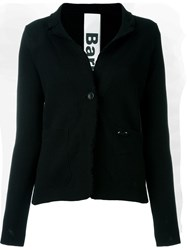 Bark Knit Blazer Black