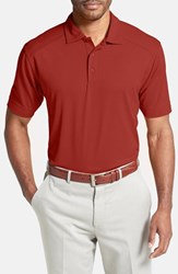 Men's Big And Tall Cutter And Buck 'Genre' Drytec Moisture Wicking Polo Cardinal Red