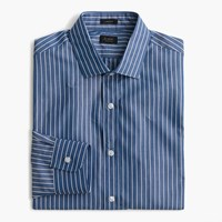 J.Crew Ludlow Shirt In Blue And White Stripe