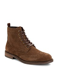 Saks Fifth Avenue Ranier Suede Boots Sand Brown