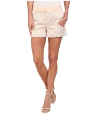 Ted Baker Nidia Circular Jaquard Short Beige Women's Shorts