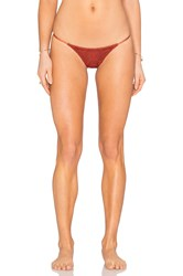 Blue Life Tribal Skimpy Bikini Bottom Rust