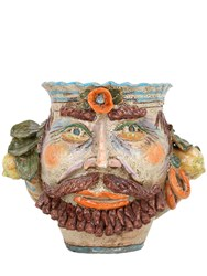 Sicily And More Fish Man Ceramic Vase