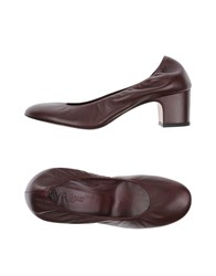 Avril Gau Pumps Maroon