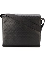 Emporio Armani Flap Messenger Bag Black