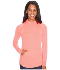 Marmot Pace Hoodie Neon Coral Women's Sweatshirt Orange