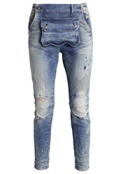 G Star Gstar 5620 3D Pouch Boyfriend Slim Fit Jeans Gavi Destroyed Denim