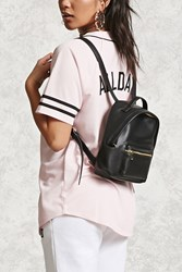 Forever 21 Faux Leather Mini Backpack