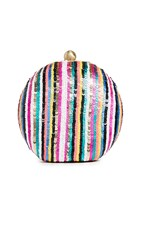 Santi Sequined Clutch Multi