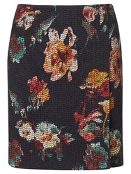 Jigsaw Needle Punch Floral Wrap Skirt Multi