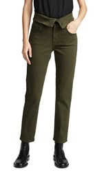 James Jeans Folie Twill Fold Over Ivy