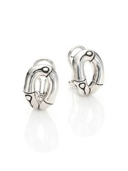 John Hardy Bamboo Sterling Silver Stud Earrings
