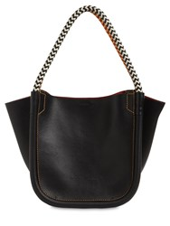 Proenza Schouler Xs Superlux Leather Tote Bag Black